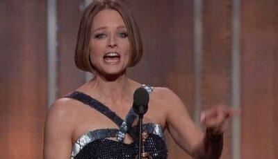 Jodie Foster, cel mai emoționant discurs de la Golden Globes!