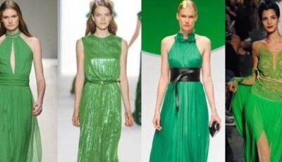 Ținute în nuanțe de verde smarald! (30 foto)