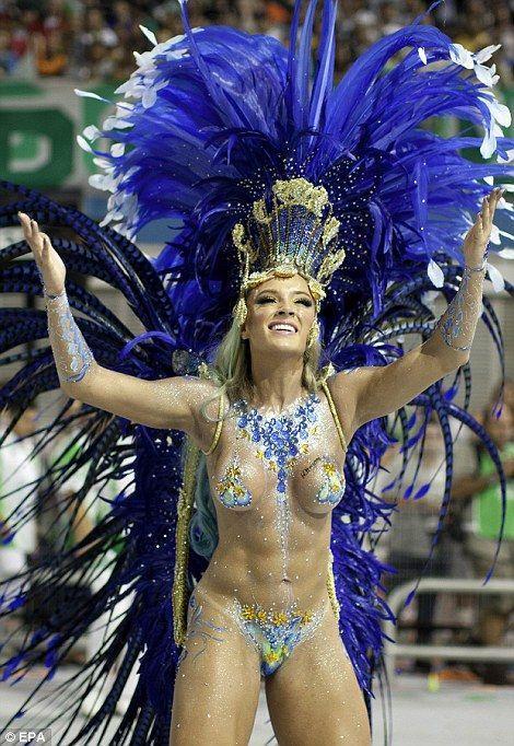 """Carnavalul Brazilian – cel mai """"fierbinte"""" eveniment din lumea spectacolului! Poze"""