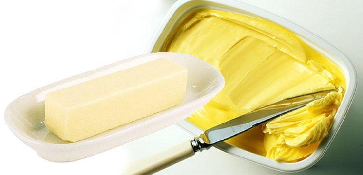 Foto: Ce mâncăm unt sau margarină?