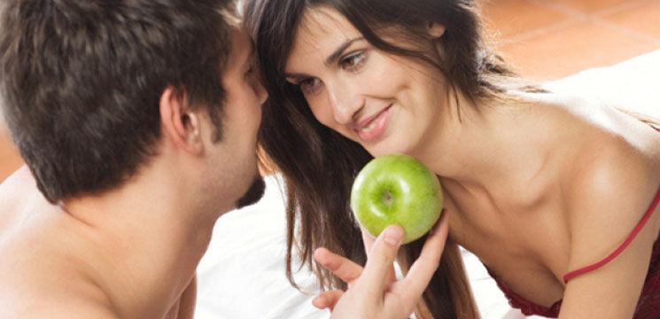 Mâncarea pe post de afrodisiace în timpul jocurilor erotice!
