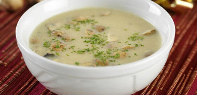 Supa crema de ciuperci (Champignon)