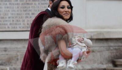 Imagini de la botezul fetiței lui Pepe!