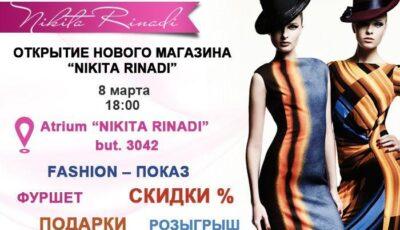 Surpriză pentru toate femeile de la NIKITA RINADI!