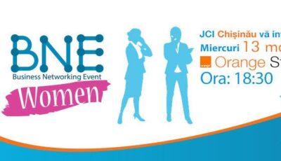 Business networking event dedicat femeilor, acum în Chișinău