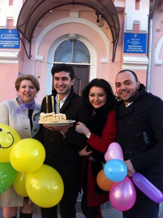 Foto: Vezi cum și-au sărbătorit zilele de naștere Igor Stribițchi și Serj Kuzenkoff