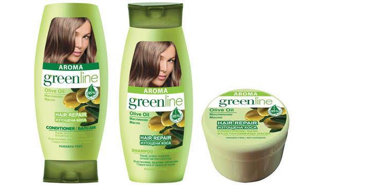 Ai părul degradat? Încearcă produsele Aroma Green Line