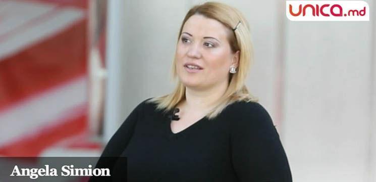 """Angela Simion: """"Cei din jur au grijă să-mi amintească de kilogramele în plus"""""""