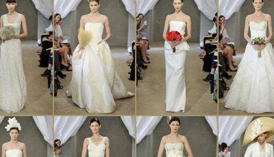 Colecția rochiilor de mireasă semnate de Carolina Herrera!(Foto)