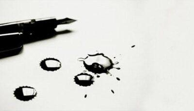 Cum scapi de petele de cerneală?