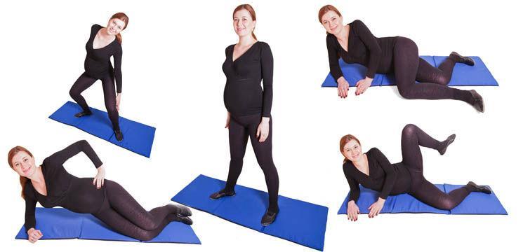 Foto: Exerciţii pentru abdomen şi coapse
