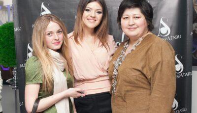 Alina Spătaru inspirată de frumuseţea feminină