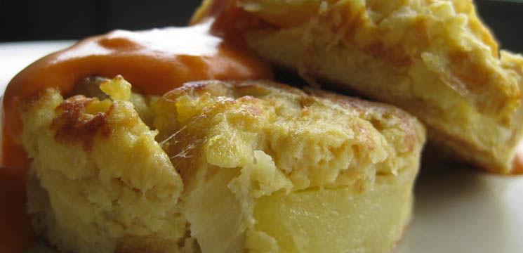 Omletă cu cartofi