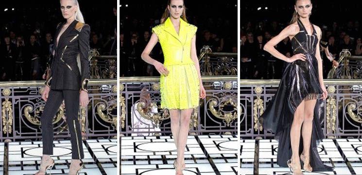 Versace îți prezintă rochii pentru primăvară-vară 2013