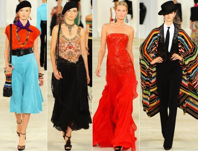 Ralph Lauren primăvară-vară 2013 – o colecție ce respiră pasiune!(video)