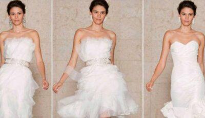 Vera Wang – rochii de mireasă primăvară/vară 2013! (Foto)