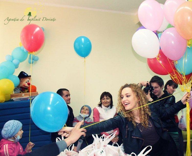 LaLa Band și bucuria micuților de la Spitalul Oncologic