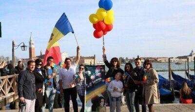 Moldovenii din 13 țări uniți prin tricolor