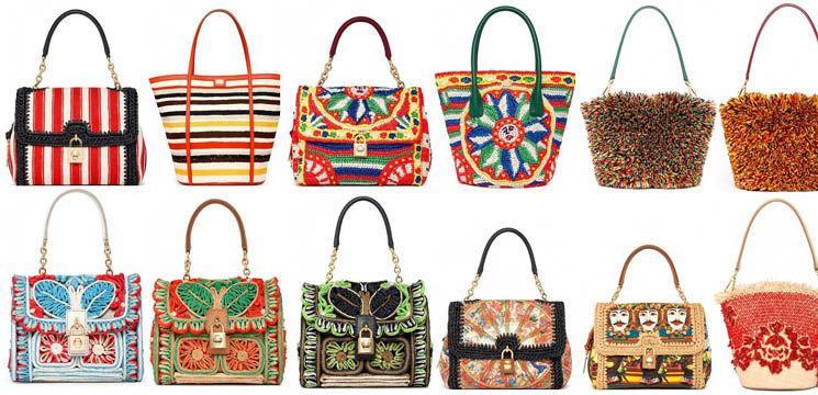 Colecția de genți Dolce & Gabbana primăvară/vară 2013