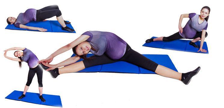 Foto: Exerciţii de extindere a muşchilor