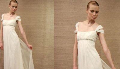 Rochii de mireasă stil grecesc: hitul anului 2013!