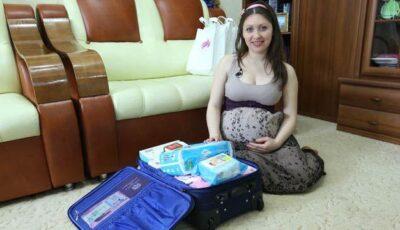 Vezi ce trebuie să conțină bagajul pentru maternitate!