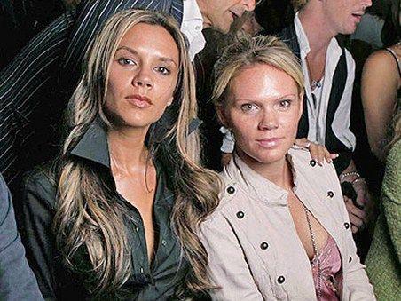Victoria Beckham are o soră!