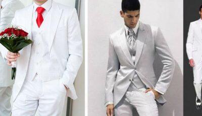 White Look: noul trend pentru un mire stilat!
