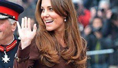 Vezi cât de bine arată Kate Middleton însărcinată