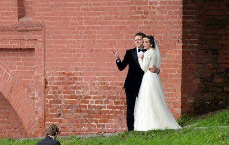 Constantin Kriukov s-a însurat! Vezi poze de la nunta lui