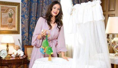 Prezentatoarea Oksana Fedorova însărcinată cu al doilea copil!