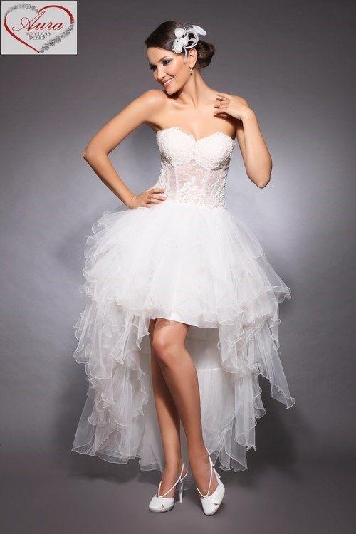 Rochii De Mireasă Scurte Modele Pentru Sezonul Primăvară Vară 2013