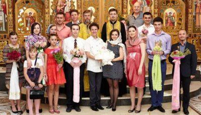 Aliona Triboi și-a creștinat fiica (Foto)