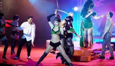"""""""Caruselul Erotic"""" a provocat la maxim actorii de la Eugen Ionesco (FOTO)"""