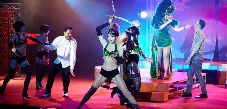 Caruselul Erotic a provocat la maxim actorii de la Eugen Ionescu (FOTO)