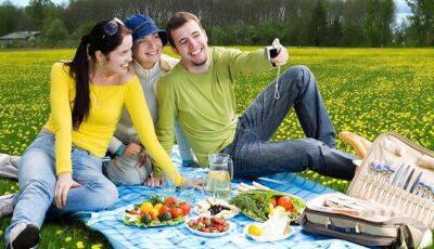 Coşul ideal pentru un picnic sănătos!
