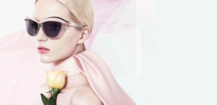 Colecția Demoiselle: ochelari de soare de la Dior! (video)