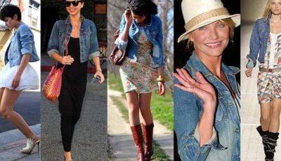 Cum să porți jacheta din denim: 12 idei de ținute