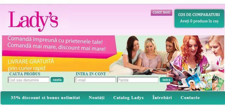 Lady's  magazin online de parfumerie, produse cosmetice și accesorii!