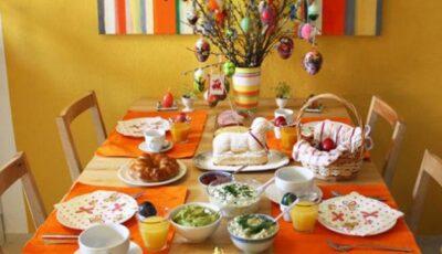 Masa de Paște – o terapie de familie!