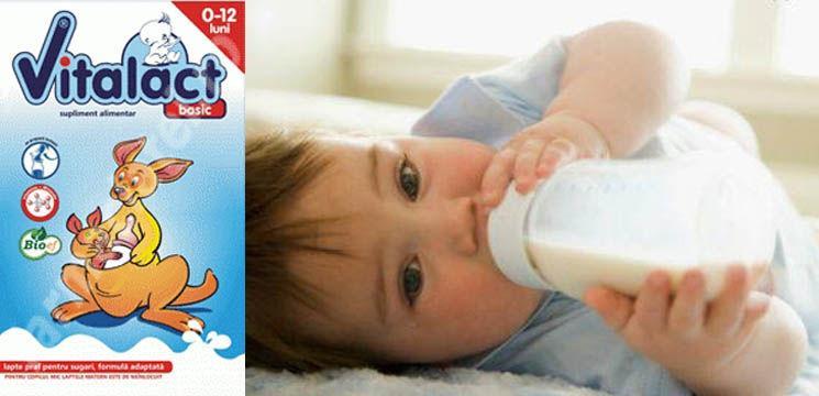 O formulă naturală pentru creșterea sănătoasă a bebelușului!