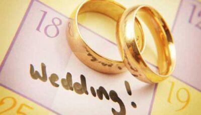 Data nunții în funcţie de vibraţia zilei!