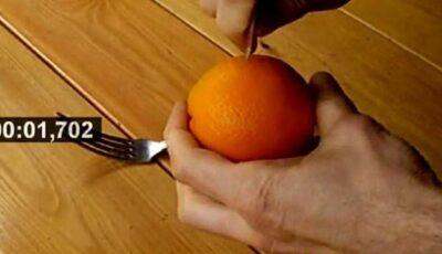 Vezi  cum poți curăța o portocală în doar 40 de secunde! (video)