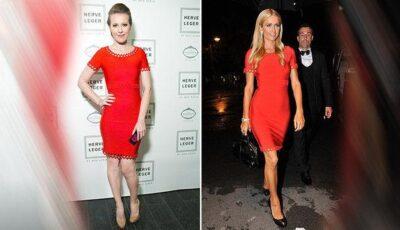 Xenia Sobchak și Paris Hilton- surprinse în rochii identice!
