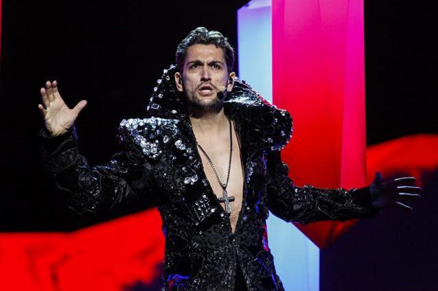 Foto: Cezar Ouatu după Eurovision!