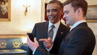 Justin Timberlake s-a distrat de minune cu Obama