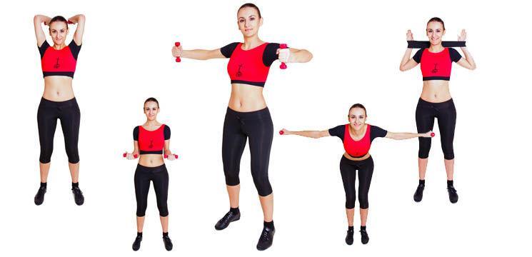5 exerciţii pentru braţe şi pectorali