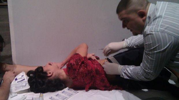 Nicoleta Luciu a ajuns la spital!