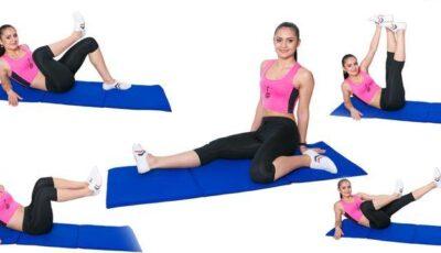 5 Exerciții pentru zona internă a coapselor!