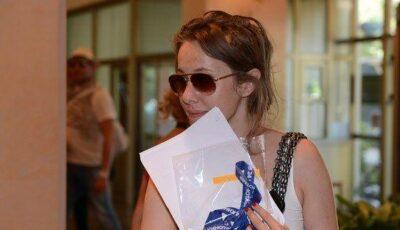 Xenia Sobceac și soțul au apărut în public! Vezi poze